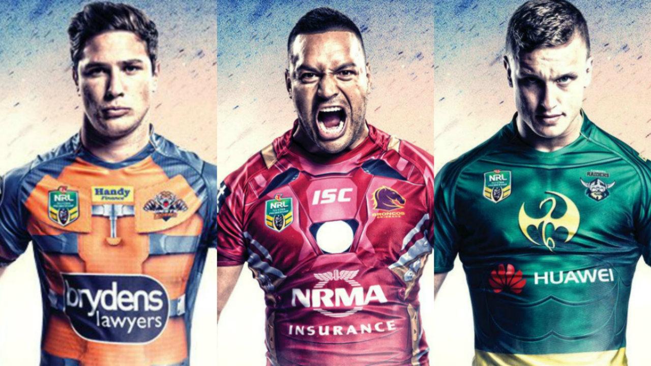 promo code 8d64a b97d7 2017 Marvel Superhero NRL Jerseys | Sporting News Australia
