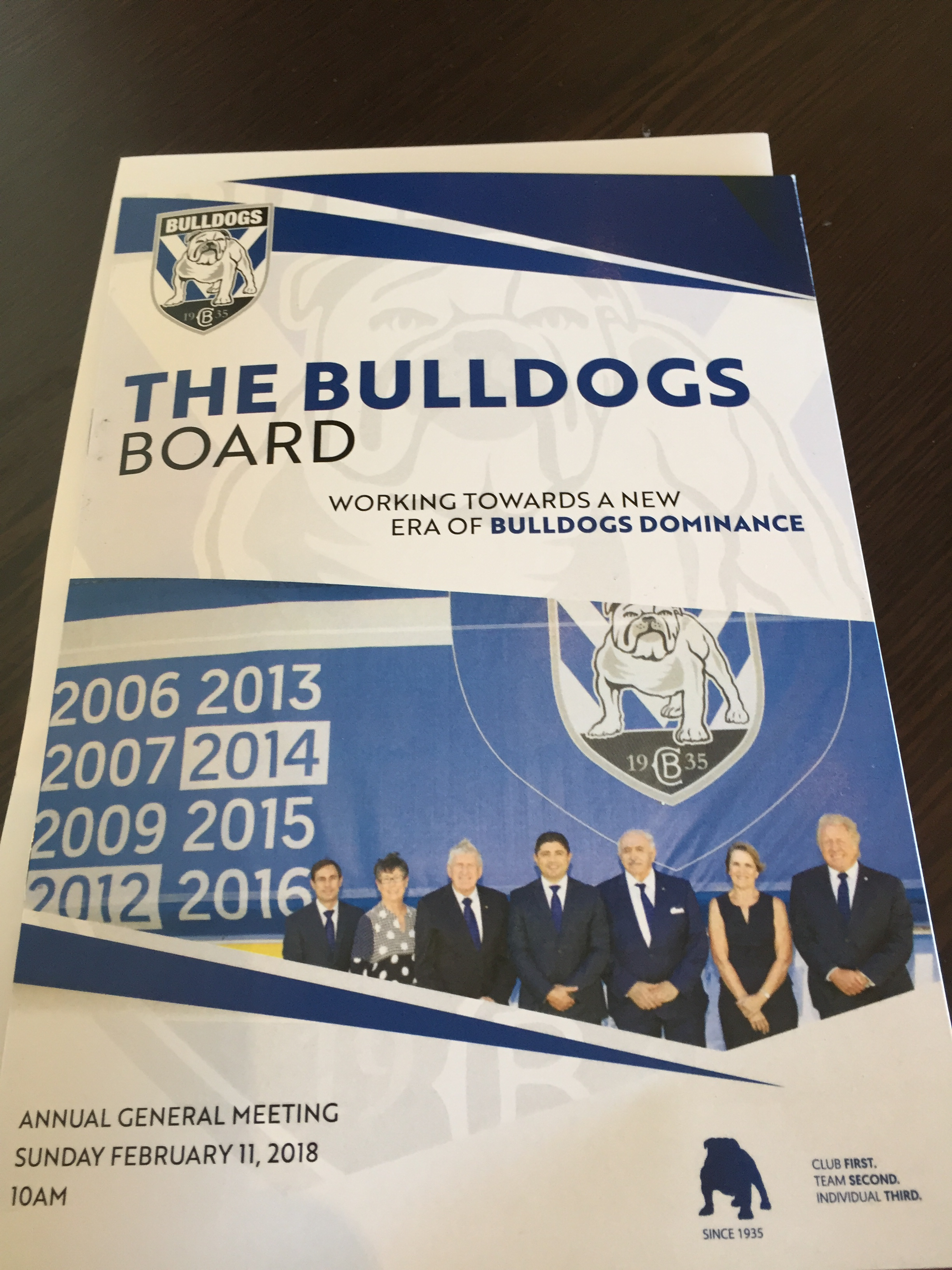 bulldogs elections