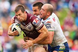 Brenton Lawrence of the Sea Eagles