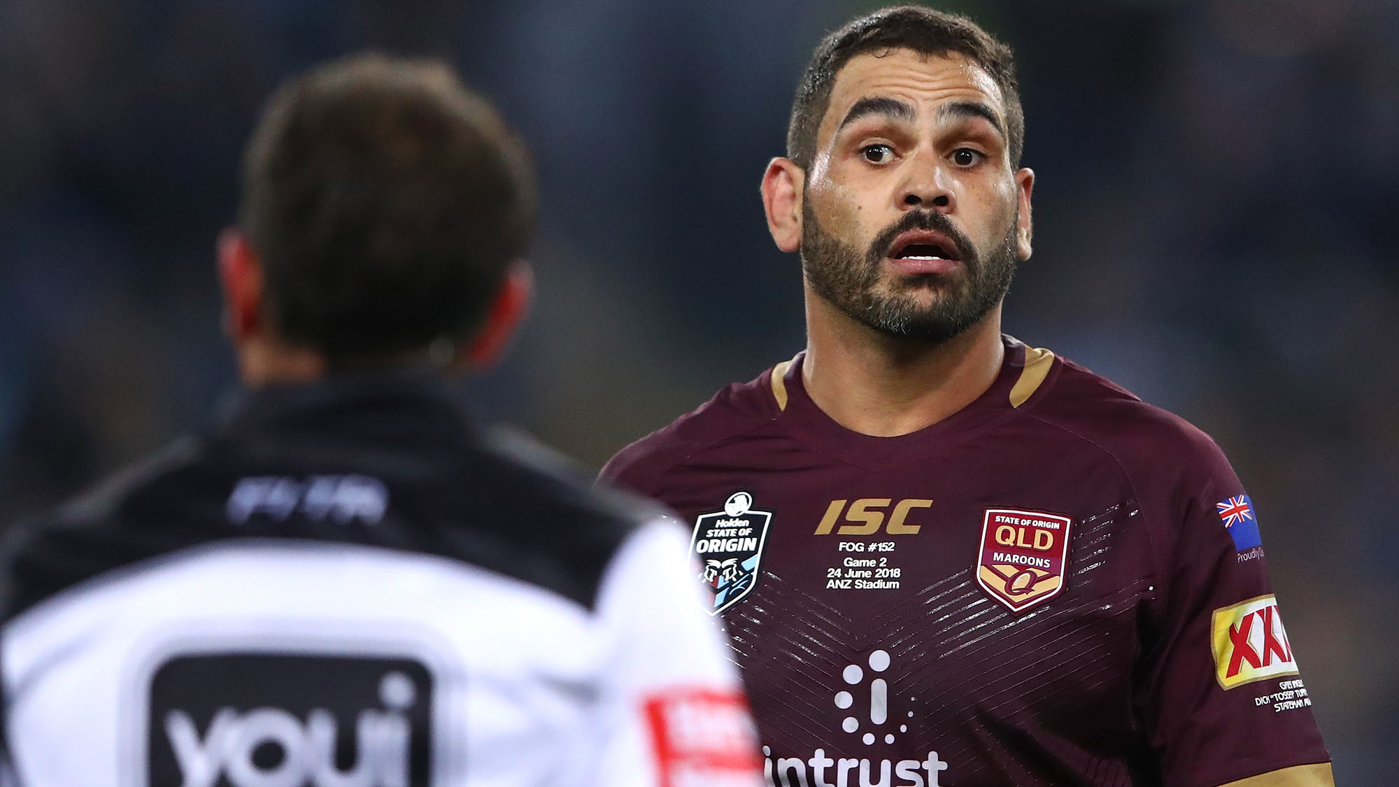 Greg Inglis to captain Maroons in 2019 despite DUI controversy, QRL boss says