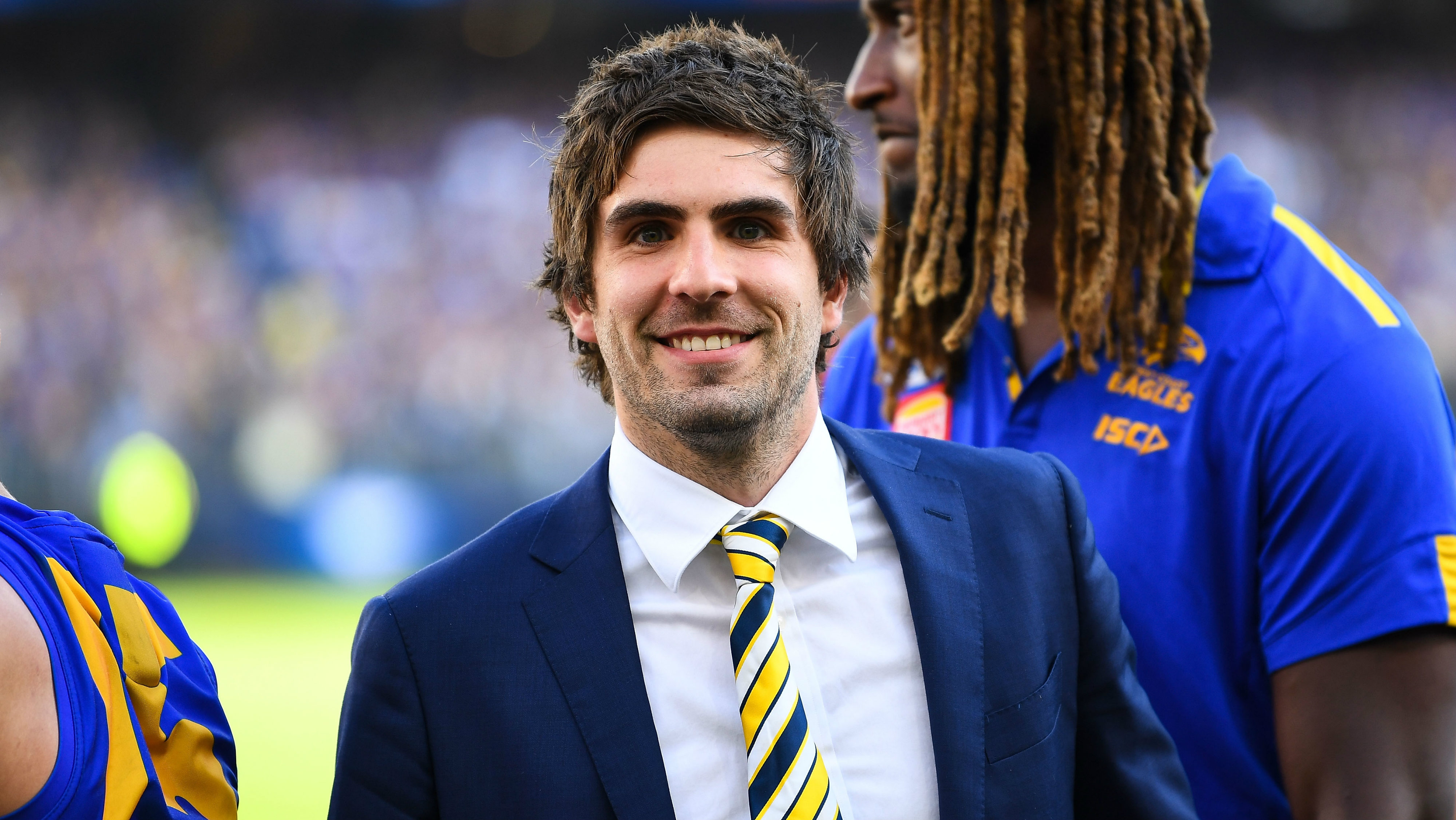 AFL trade: Andrew Gaff commits to contract extension with West Coast Eagles