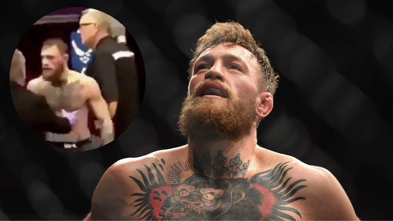 UFC 229: Unseen footage shows Conor McGregor cop heat in full-scale attack