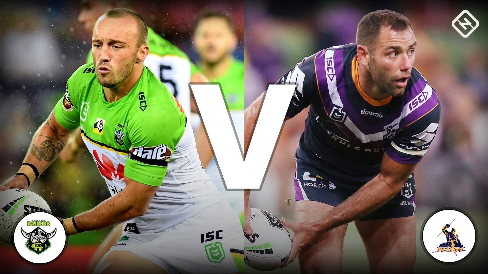 Canberra Raiders v Melbourne Storm - live scores, commentary and highlights