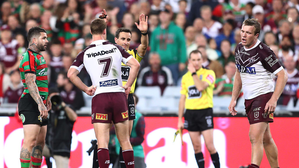 Andrew Johns demands the referees put the whistle away and scrap sin-bin in crucial finals moments
