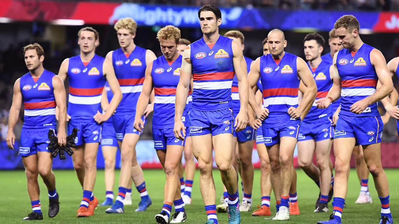 How many of the Western Bulldogs are better players now than during their 2016 Premiership?