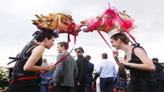 Decorative hats Melbourne cup
