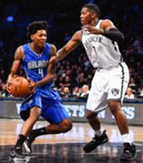 NBA. Brooklyn Nets v Orlando Magic.