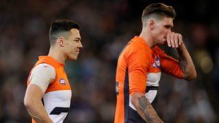 Dylan Shiel and Rory Lobb