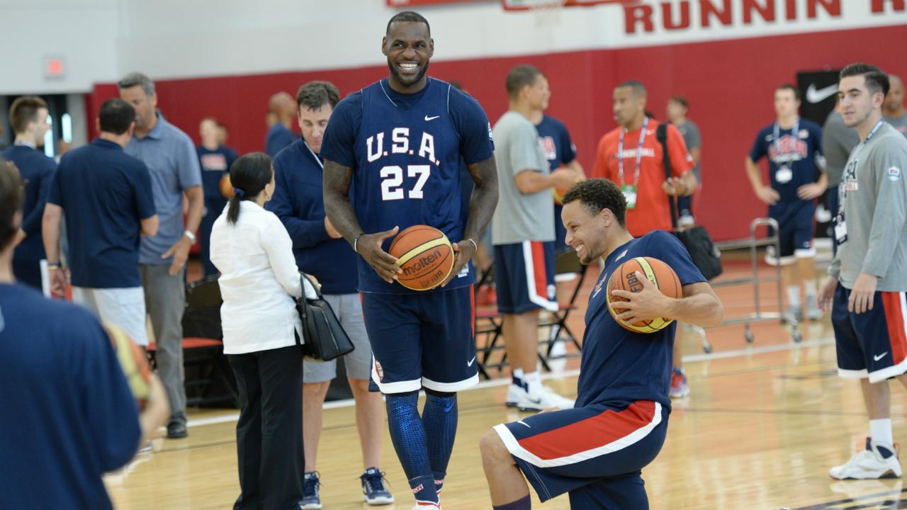 LeBron, Curry leads USA national team pool ahead of 2019 ...