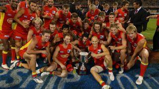 #QClash trophy Gold Coast Suns