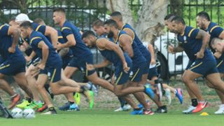 Parramatta Eels training