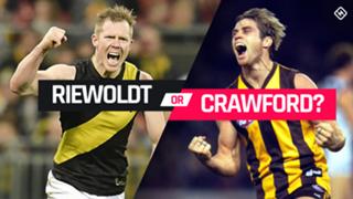Riewoldt v Crawford pick 13
