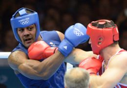 Jarryd Hayne Olympics - Boxing