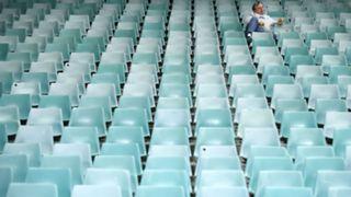 #empty nrl seats