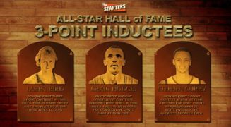 Three Point Inductees