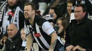 #Collingwood supporters fans crowd