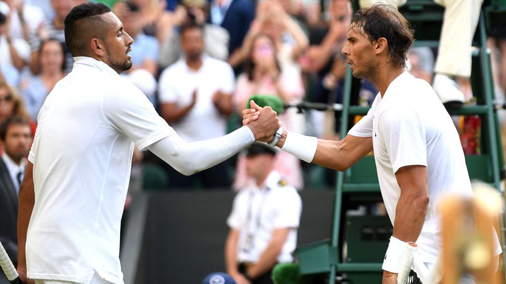 Rafael Nadal snubs Nick Kyrgios as future tennis great