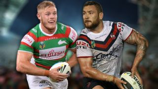NRL. Rabbitohs v Roosters