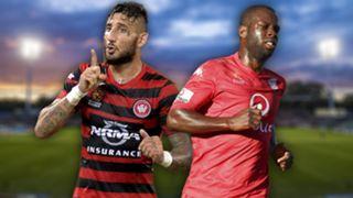 A-League.  Western Sydney Wanderers v Adelaide United