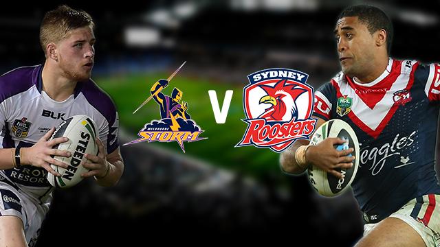 Resultado de imagen de Sydney Roosters vs Melbourne Storm