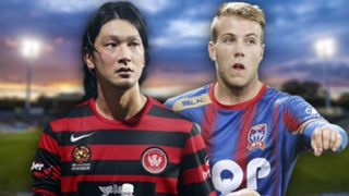 A-League.  Western Sydney Wanderers v Newcastle Jets