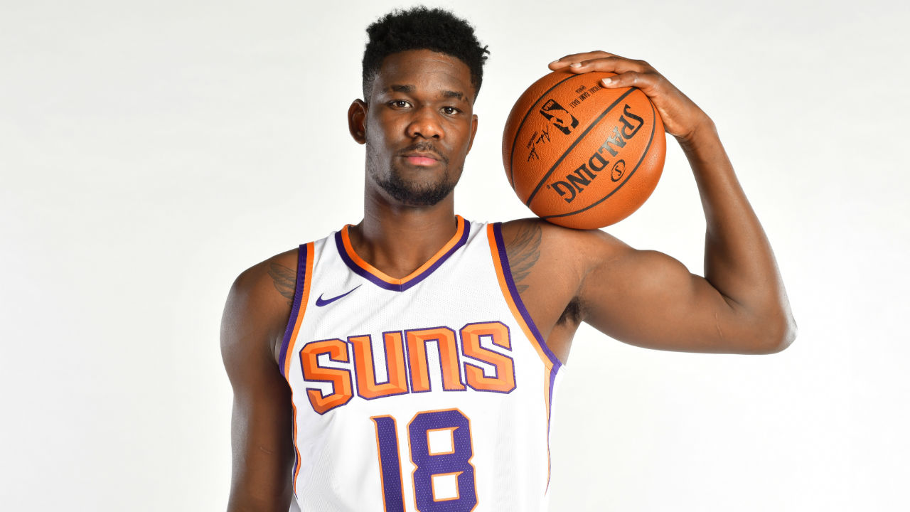 b0a6721b5 Deandre Ayton arrives as symbol that Phoenix Suns are on the rise ...