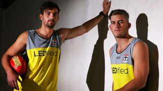 St Kilda recruits Billy Longer and Josh Bruce