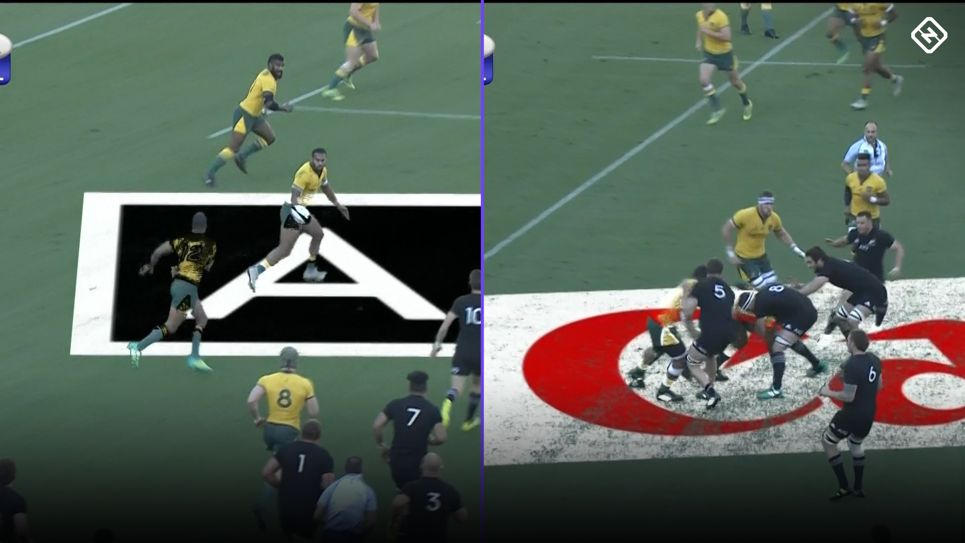 Bledisloe Cup 2018: 'Annoying' on-field advertising causes major distraction for television viewers