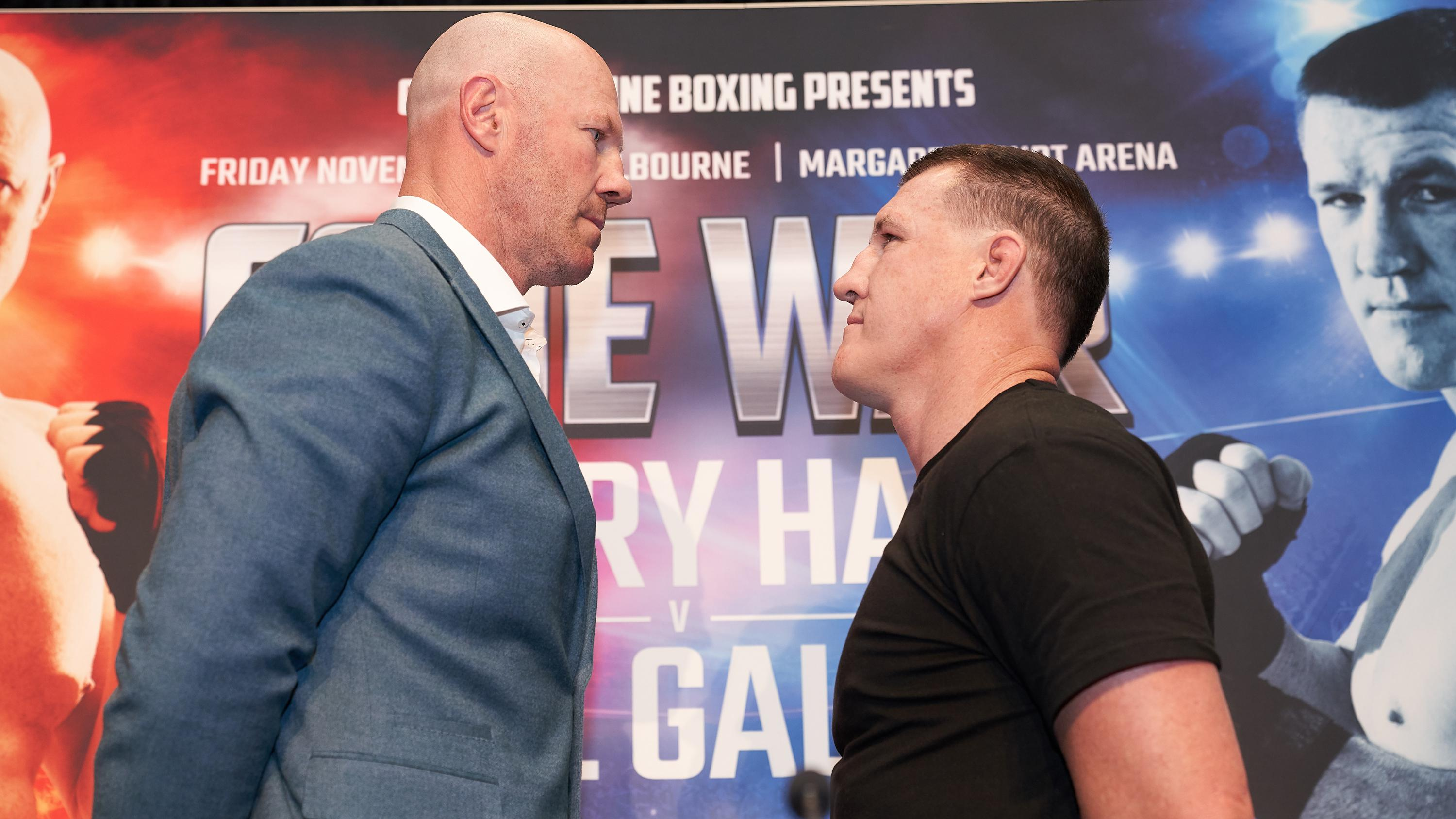 barry hall and paul gallen fight - photo #8