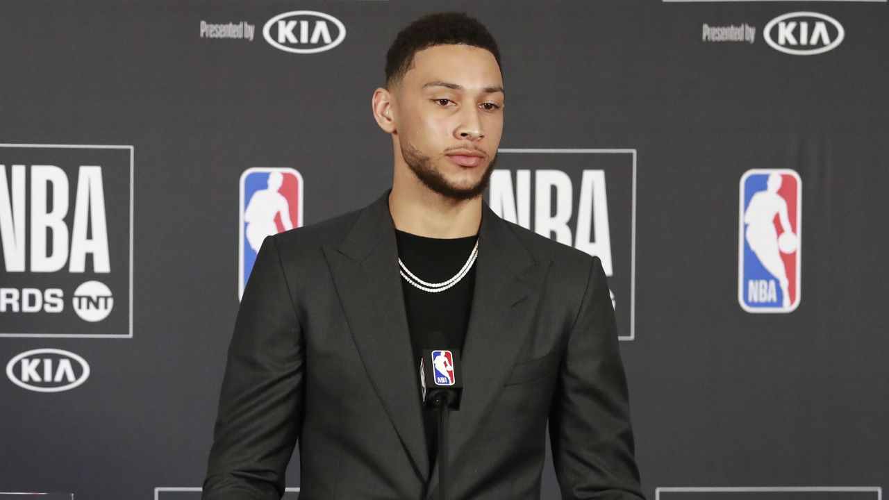 NBA world reacts to Ben Simmons claiming Rookie of the Year Award ... ca3e6f5ab