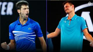 Novak Djokovic Bernard Tomic
