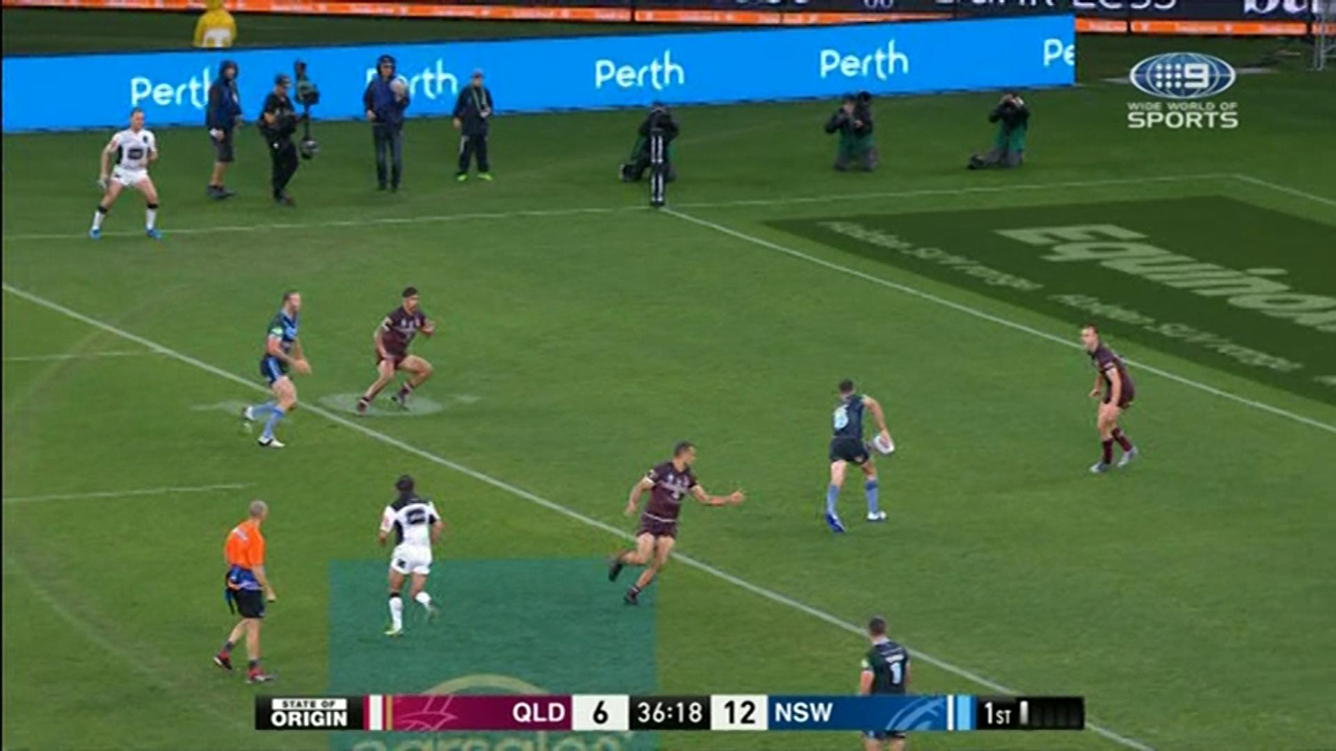 State of Origin: Channel Nine explain why game clock went back in time