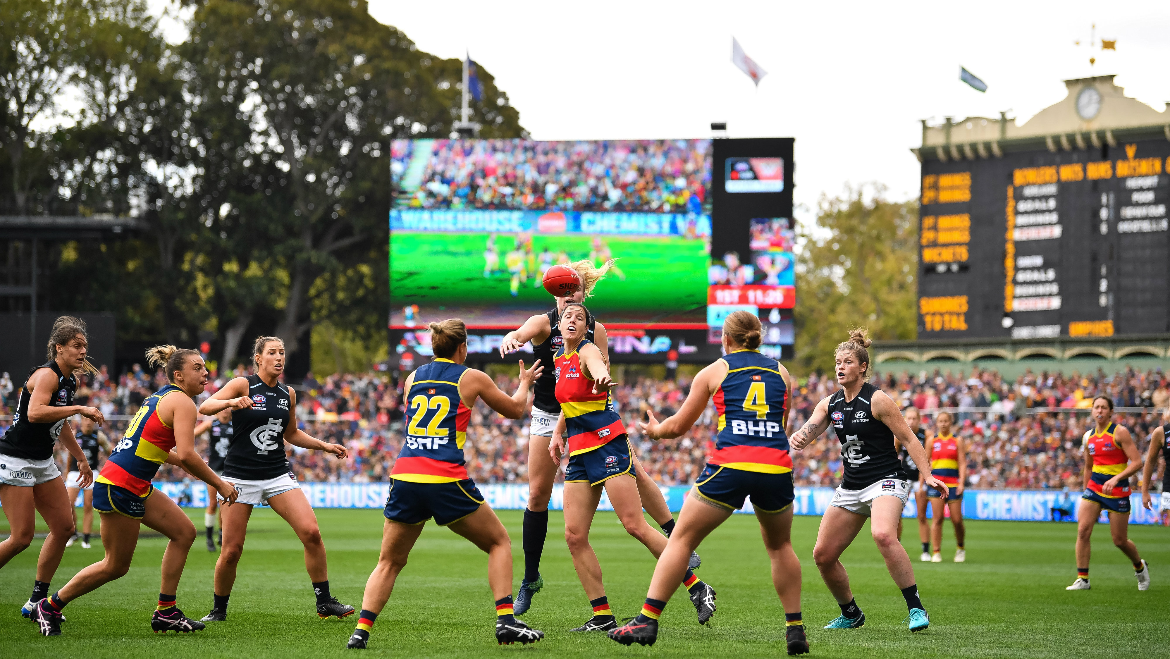 AFLW: League hammered over lack of 2020 fixture