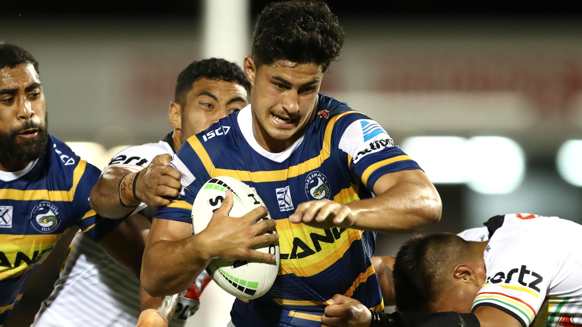 Andrew Johns and Brad Fittler in awe of Eels debutant Dylan Brown