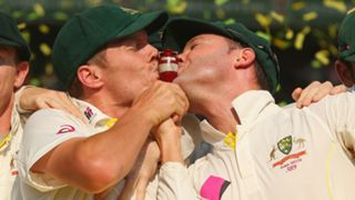 Peter Siddle and Michael Clarke