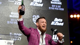 Conor McGregor promotes his whisky
