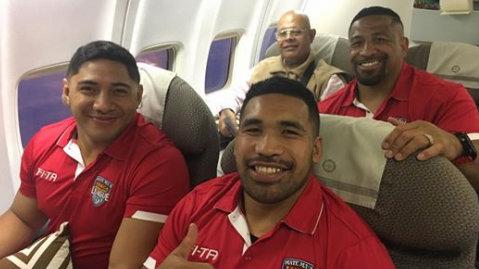 Jason Taumalolo kicked off overloaded Tonga flight