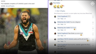 Paddy Ryder social media racism