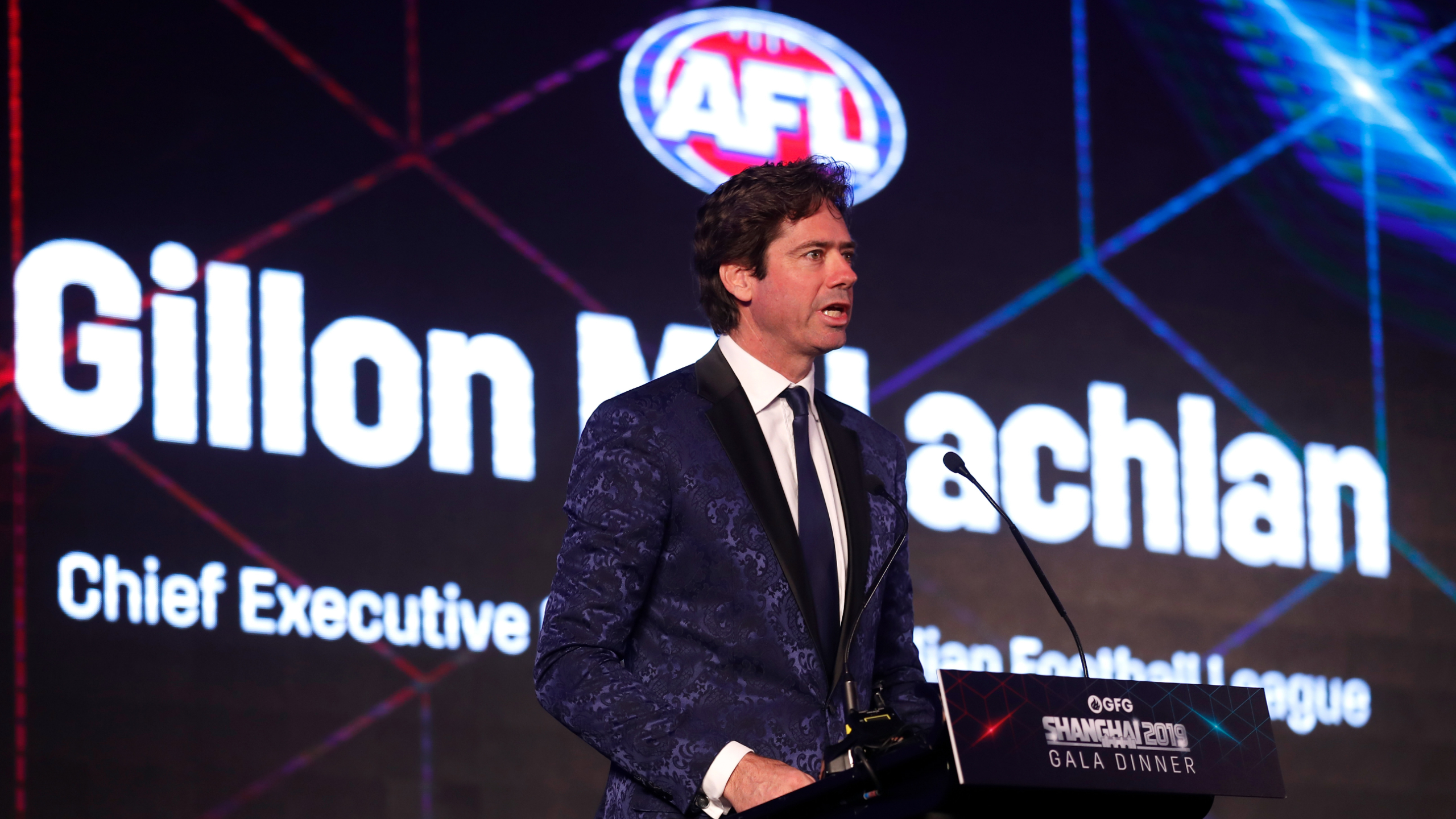 AFL CEO Gillon McLachlan is prepared to consider reducing the length of the AFL season