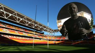 #Suncorp Stadium NSW fan