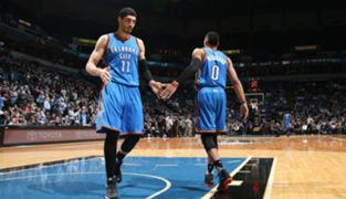 Enes Kanter and Russell Westbrook