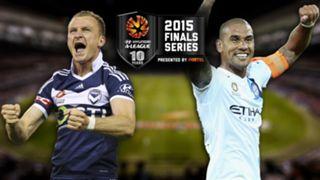 A-League.  Melbourne Victory v Melbourne City