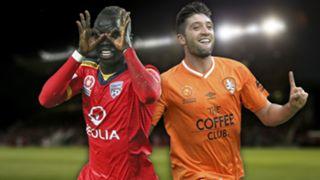A-League.  Adelaide United v Brisbane Roar