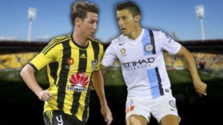 A-League. Wellington Phoenix v Melbourne City