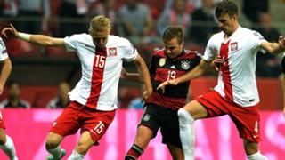 Mario Goetze Germany Poland