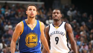 Steph Curry and Tony Allen