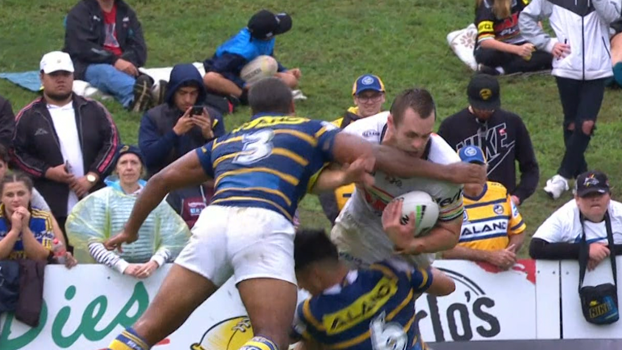 Penrith Panthers v Parramatta Eels: Controversial Michael Jennings sin bin turns rivalry on its head