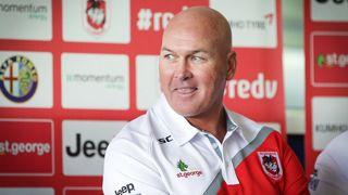 St George Illawarra Dragons coach Paul McGregor