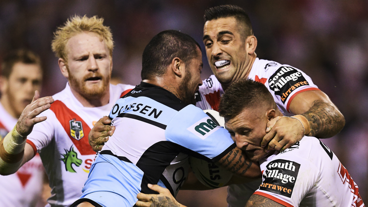 Sharks coach John Morris anticipating spicy local derby against Dragons