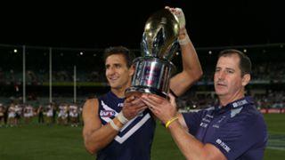 #Fremantle Western Derby Matthew Pavlich trophy